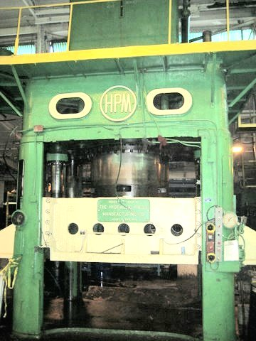 for sale used HPM 3500 hydraulic 4 post press