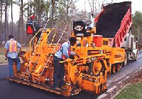 Road building equipment