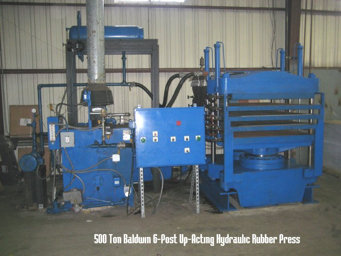 Compression molding plant liquidation sale on erie french oil hepburne and williams white for Sip panels for sale