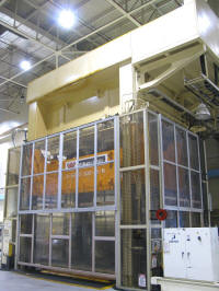 Used Williams and White 5000 ton 4 post Hydraulic stamping press for sale