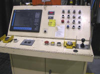 Press controls for Williams and White 5000 ton press