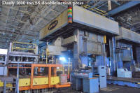 Danly 1600 ton double action press for sale