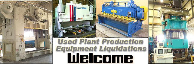 Welcome to EquipBrokers.com a site devoted to buying and selling used industrial plant machinery