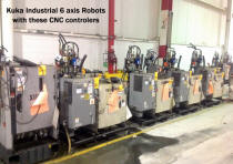 Kuka CNC controllers for our brand of Assembly Robotic Arms