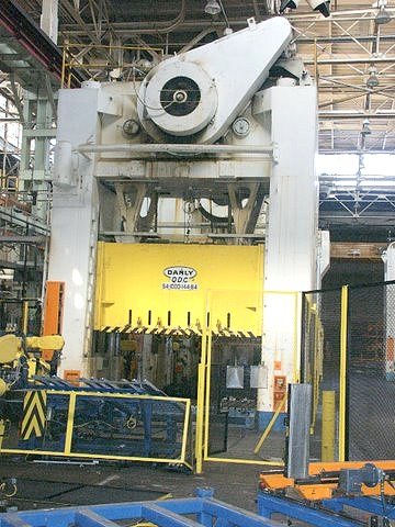 Used Automotive Metal Stamping Press Lines For Sale At